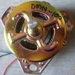 Dinamo pencuci/dinamo mesin cuci/dinamo tiga kaki As 12mm 135W Merk Matrix
